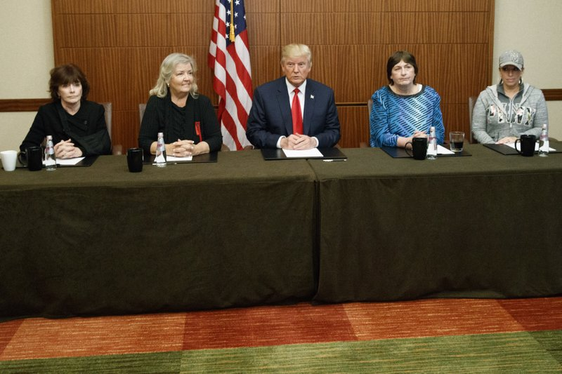 Donald Trump, Paula Jones, Kathy Shelton, Juanita Broaddrick, Kathleen Willey