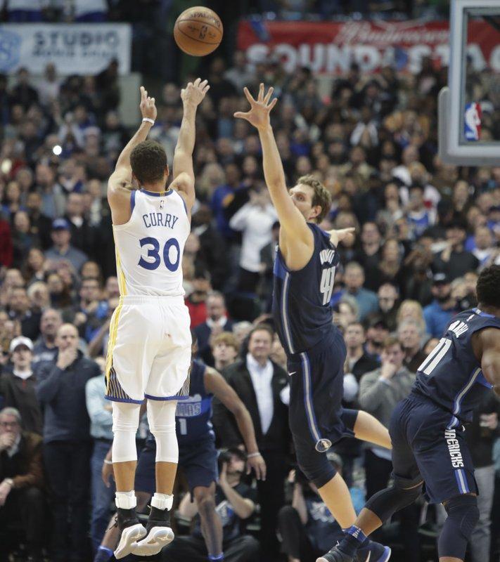 Stephen Curry, Dirk Nowitzki