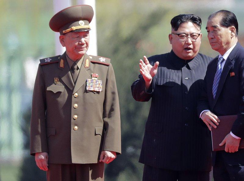 Hwang Pyong So, Kim Jong Un, Pak Pong Ju