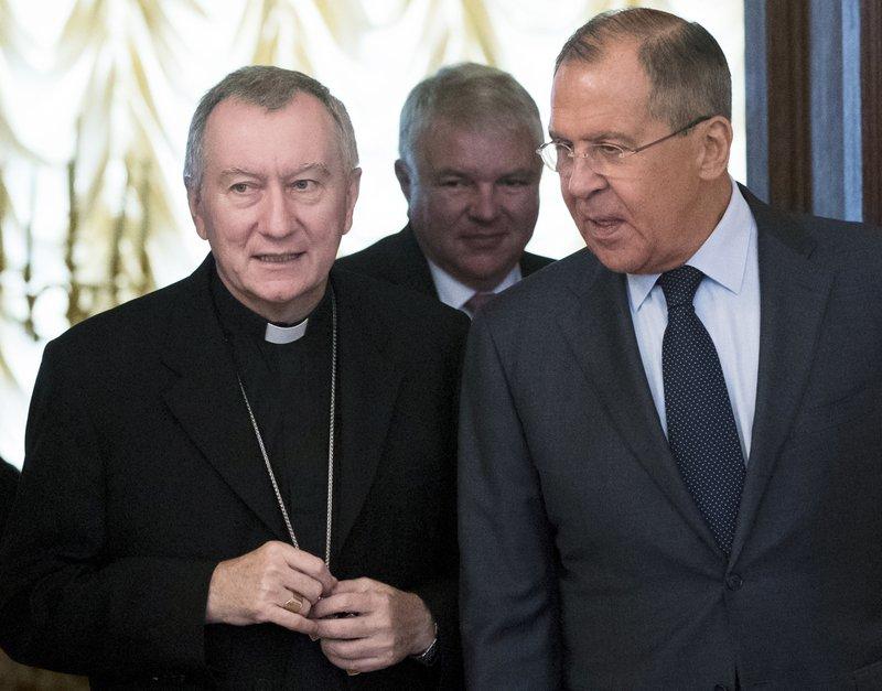 Sergey Lavrov, Pietro Parolin