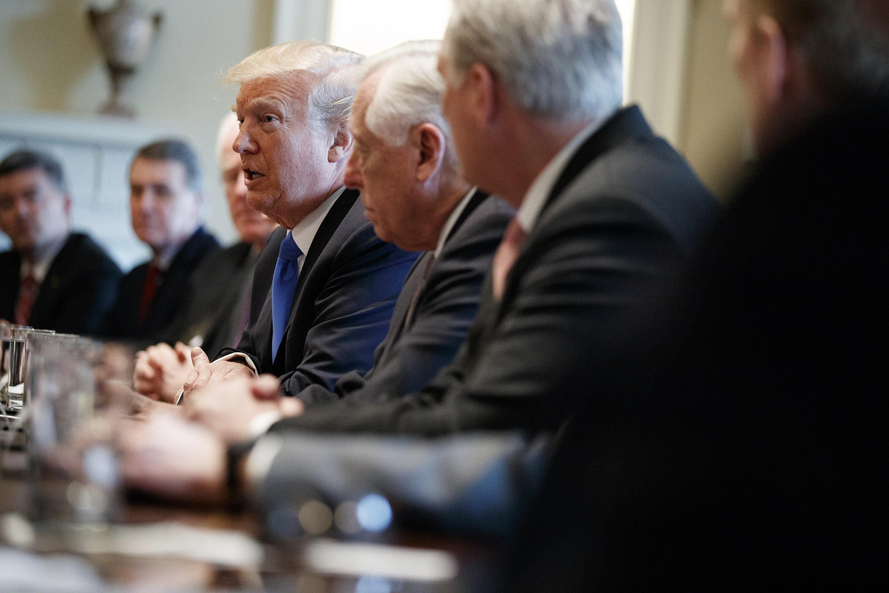 The Latest: Trump suggests 2-phase immigration deal