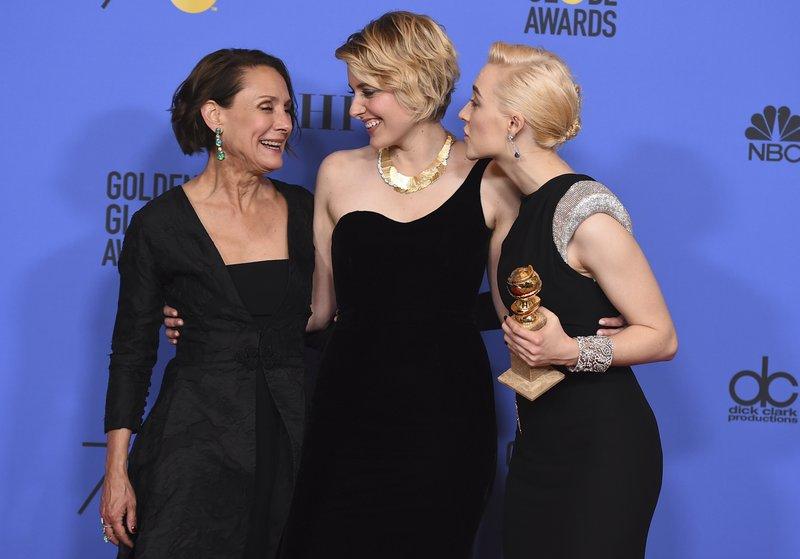 Laurie Metcalf, Greta Gerwig, Saoirse Ronan
