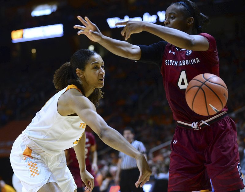 Lady Vols vs South Carolina Basketball