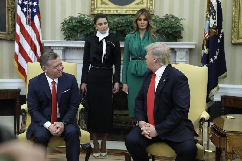 Donald Trump King Abdullah II