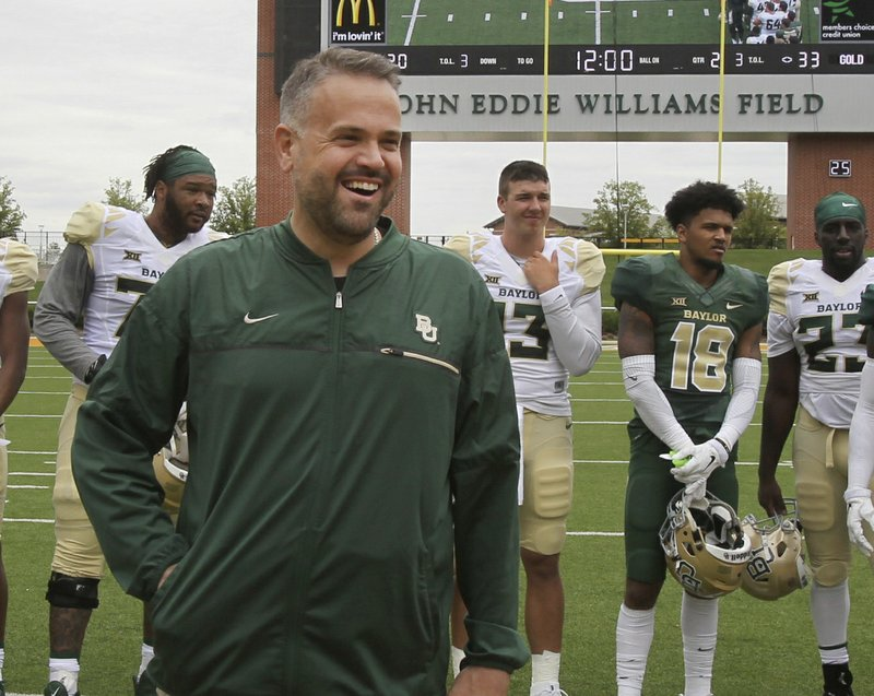 Vanilla Look At New Baylor Offense Shows Significant Change