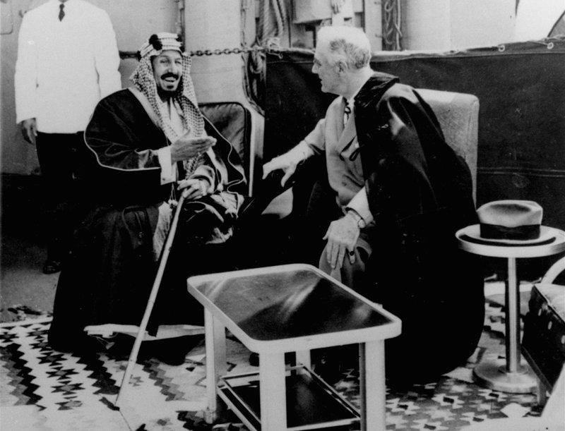 Abdulaziz Ibn Saud, Franklin D. Roosevelt