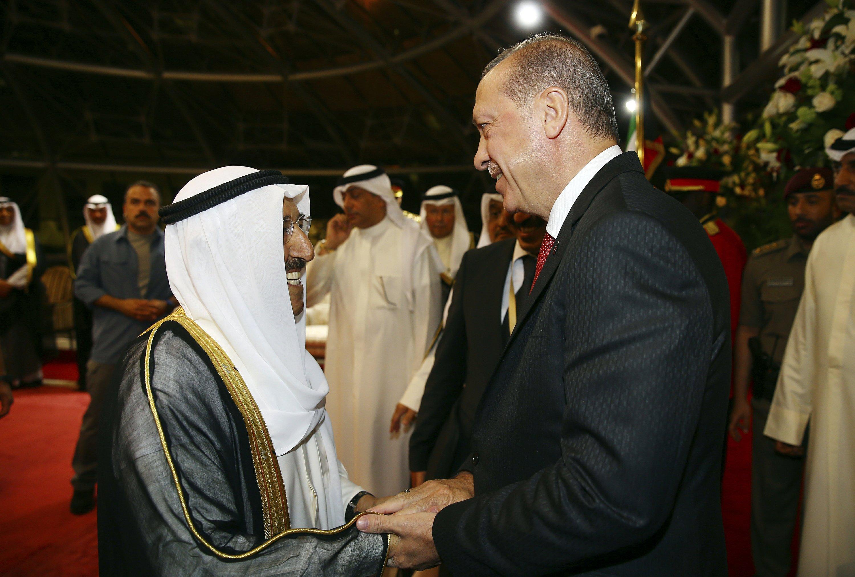 Turkish leader wades into Qatar dispute with Gulf tour