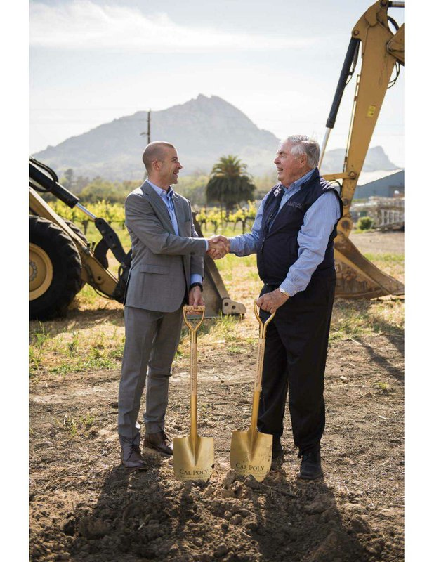 Cal Poly to Name Center for Wine and Viticulture in Recognition of Two Key Donors