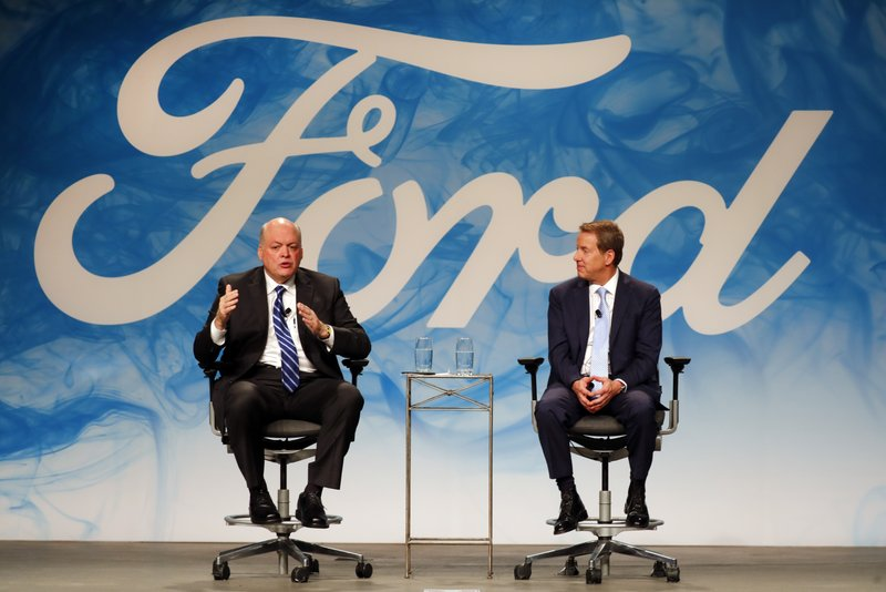 Bill Ford Jr., Jim Hackett
