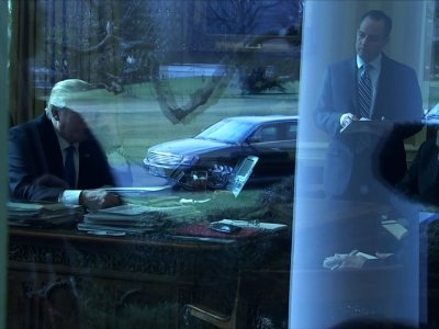 First Phone Conversation Between Trump, Putin