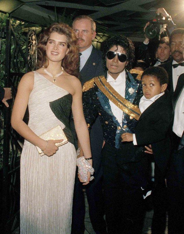 Brooke Shields, Michael Jackson, Emmanuel Lewis