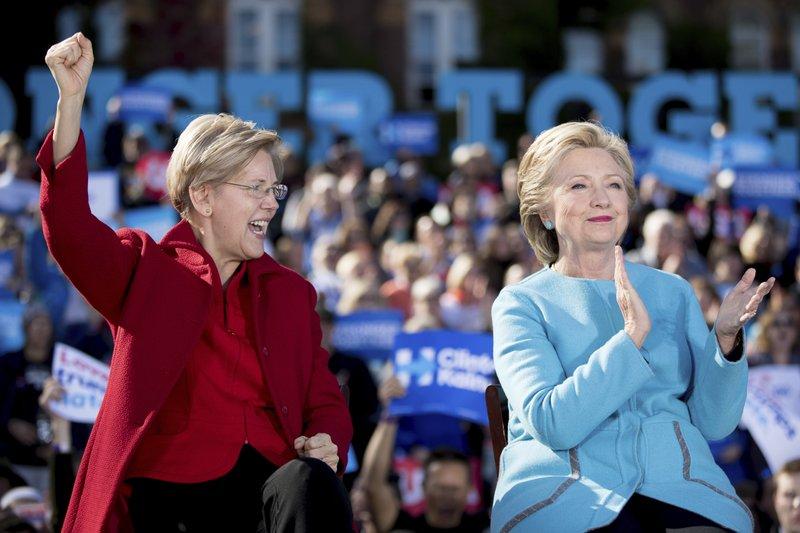 Hillary Clinton, Elizabeth Warren