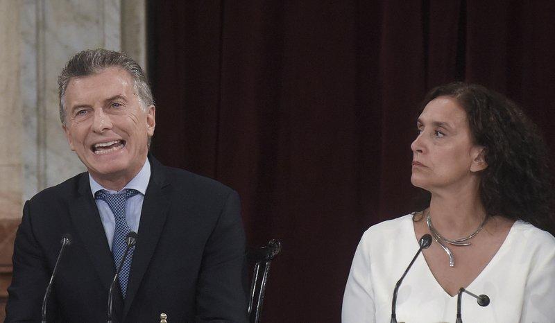 Mauricio Macri, Gabriela Michetti,