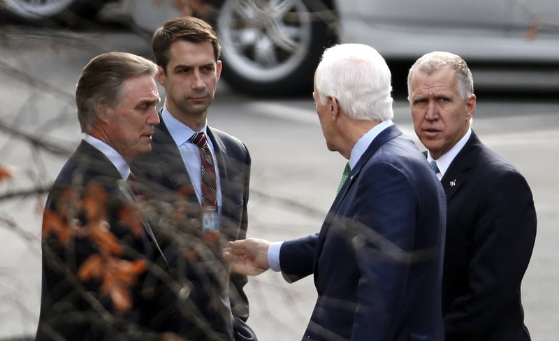 David Perdue, Tom Cotton, John Cornyn, Thom Tillis