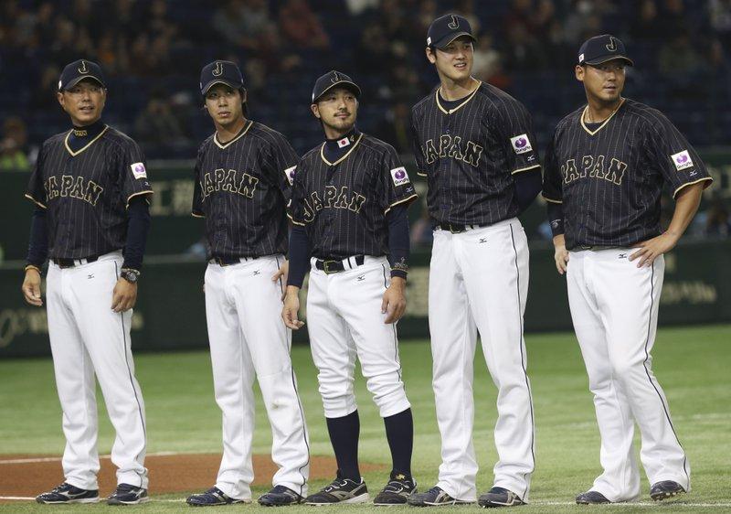 Hiroki Kokubo, Tetsuto Yamada, Ryosuke Kikuchi, Shohei Ohtani, Sho Nakata