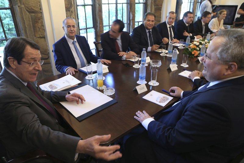Nikos Kotzias, Nicos Anastasiades, Ioannis Kasoulides