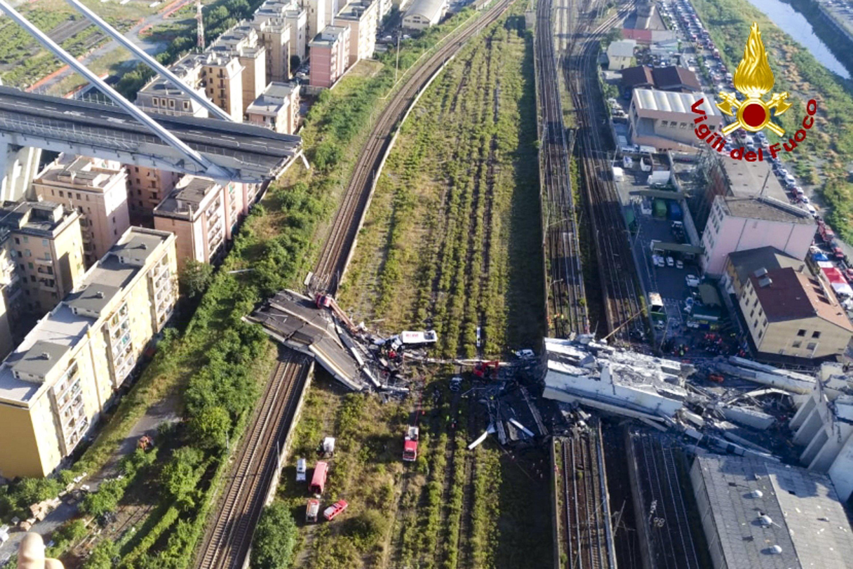Death toll rises to 35 in Italy bridge...