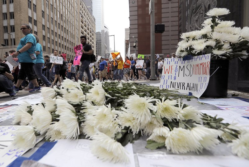 Gun violence memorial