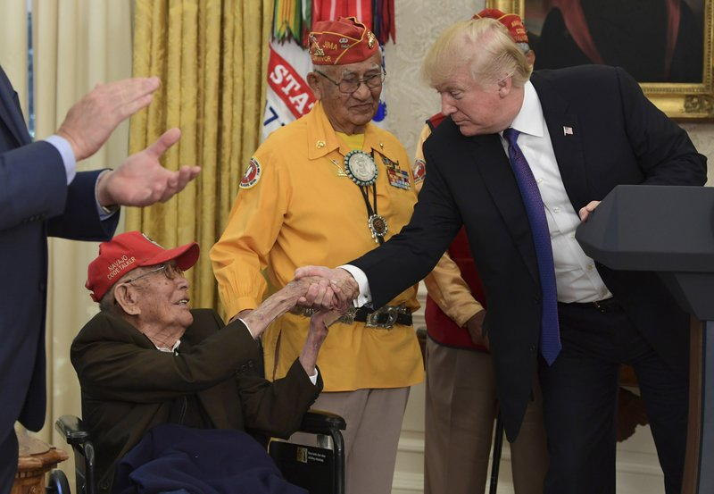 Fleming Begaye Sr., Thomas Begay, Donald Trump