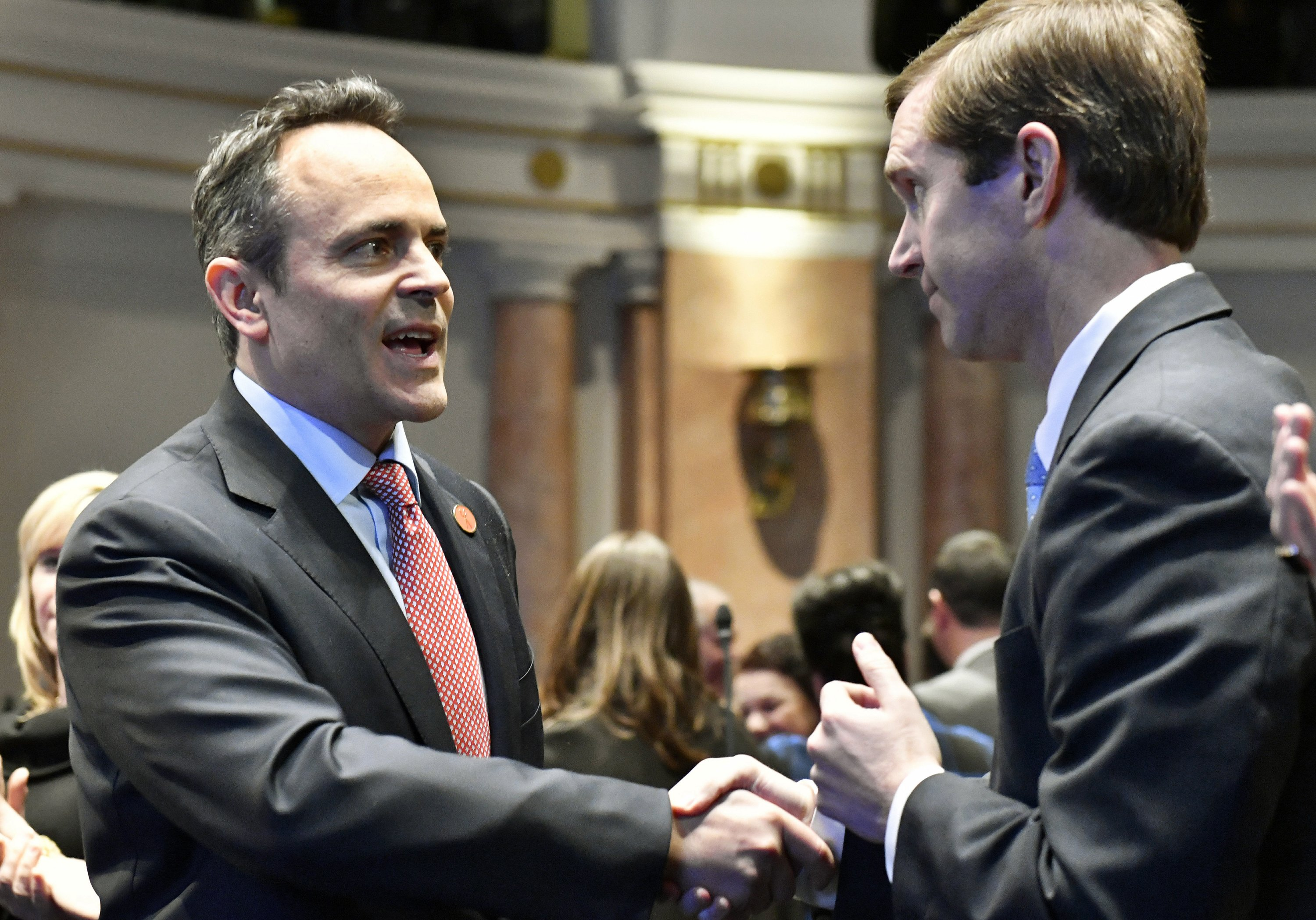 Judge: Lawsuit between Kentucky political rivals can go on