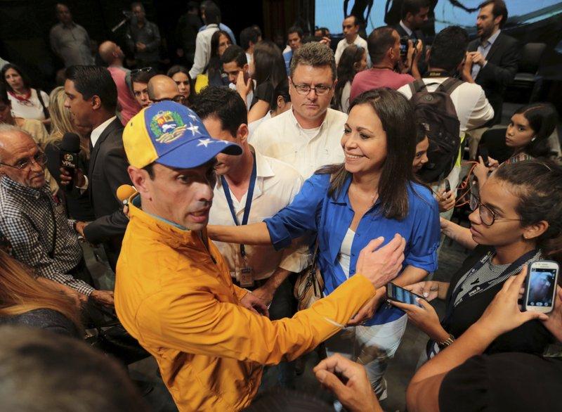 Henrique Capriles, Maria Corina Machado