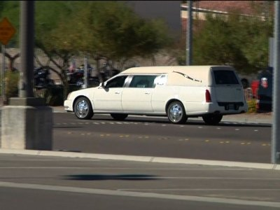 Raw: Body of Military Vet Heads Home From Vegas
