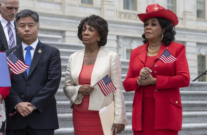 Ted Lieu, Maxine Waters, Frederica Wilson