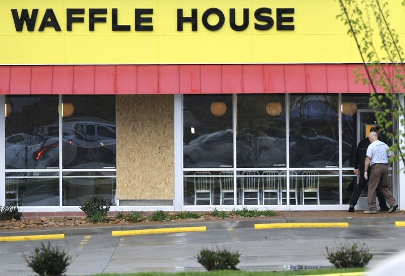 Waffle House Shooting Suspect Jailed on Murder Charges