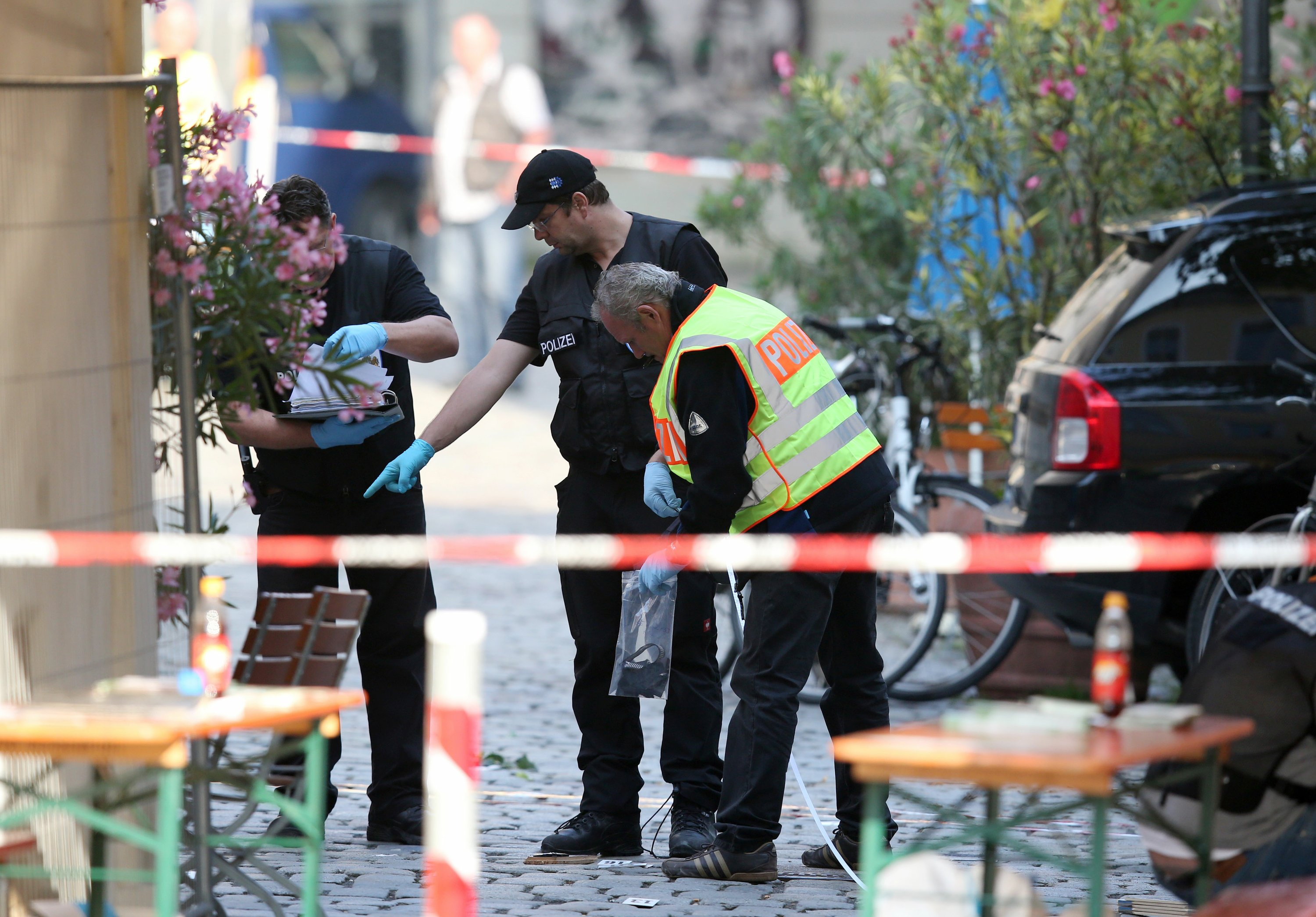 "IS attacker: Germans ""won't be able to sleep peacefully"""