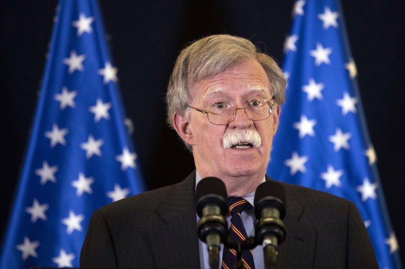 US National Security Advisor John Bolto in Israel