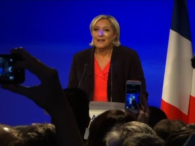 Le Pen Concedes Defeat in France's Election
