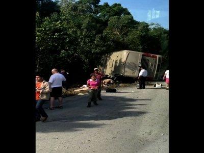 Cruise Passenger Details Mexico Crash Scene