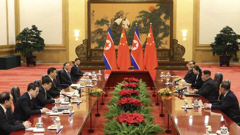 Xi Jingping, Kim Jong Un