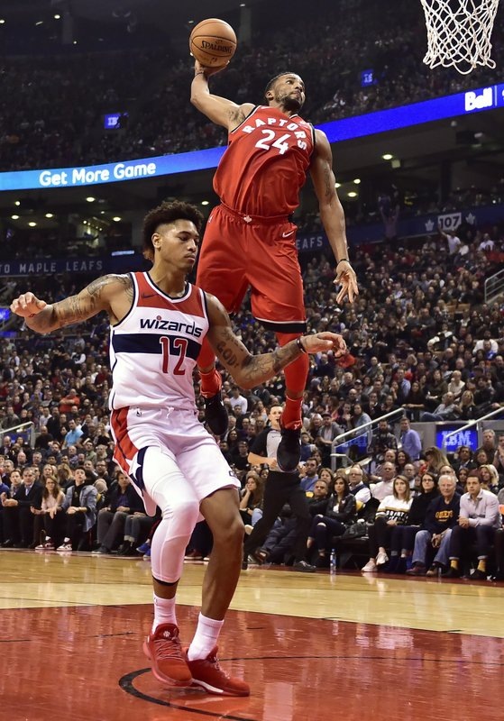 Norman Powell; Kelly Oubre Jr.