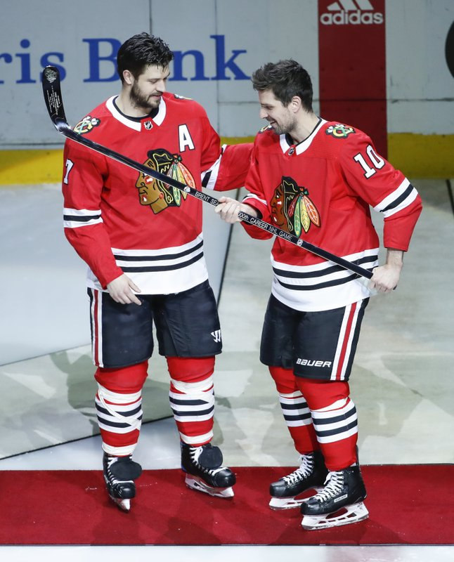 Brent Seabrook, Patrick Sharp