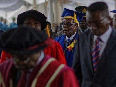 Robert Mugabe Makes Public Appearance