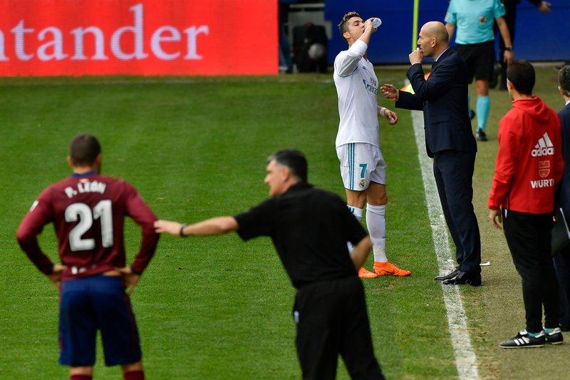 Zinedine Zidane, Cristiano Ronaldo, Jose Luis Mendilibar