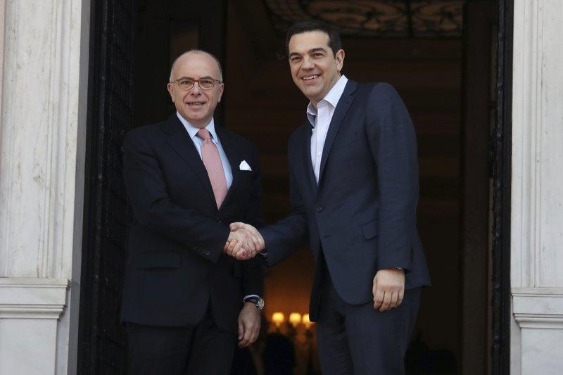 Alexis Tsipras, Bernard Cazeneuve