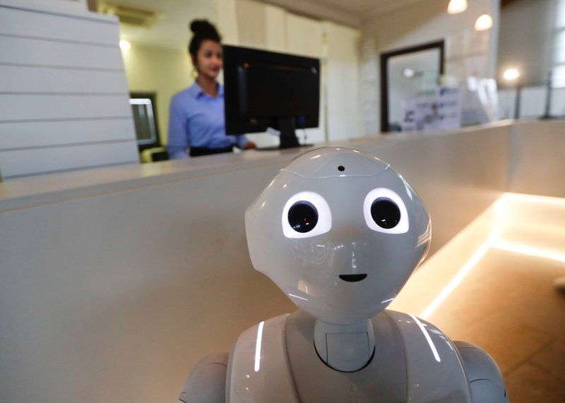 Italys robot concierge a novelty on the way to better AI