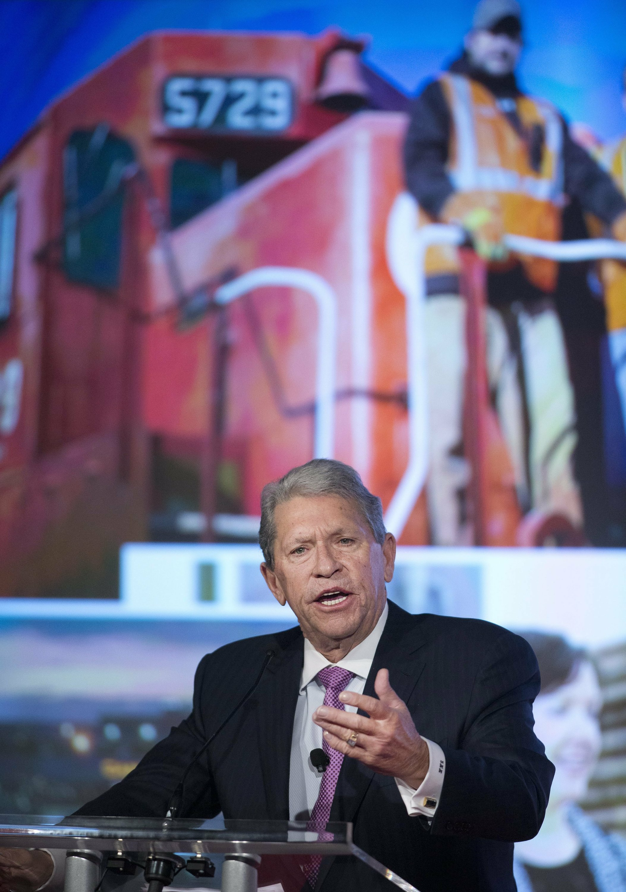 CSX may not be the only rail target for activist investor