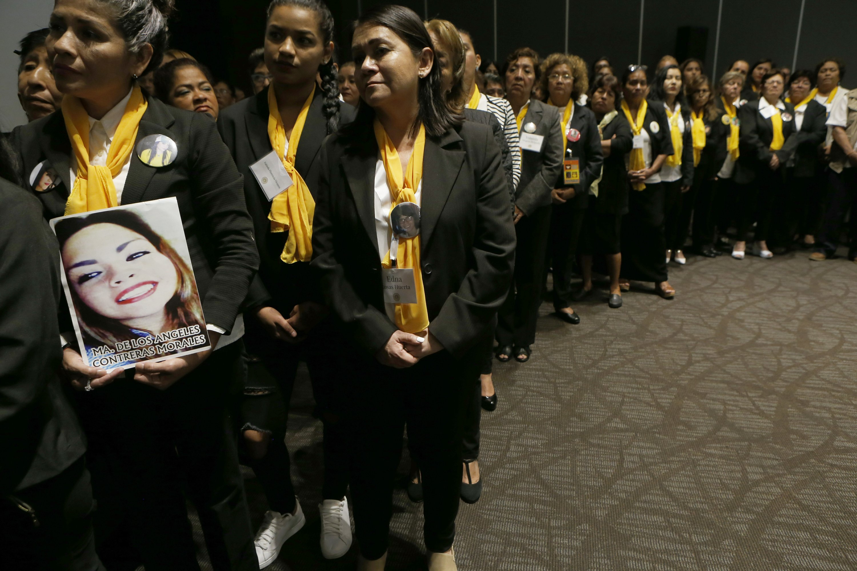 Mothers searching for the disappeared get Notre Dame Award