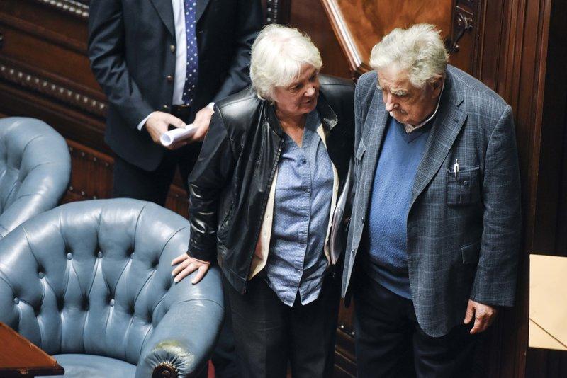 Jose Mujica, Lucia Topolansky