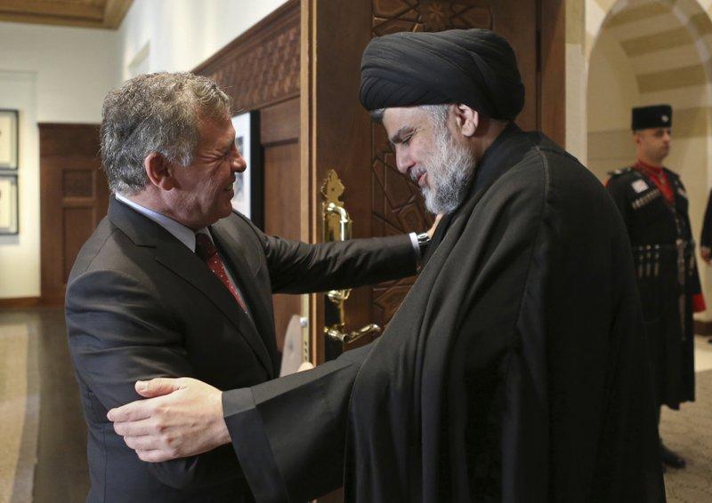 Muqtada al-Sadr, Abdullah II