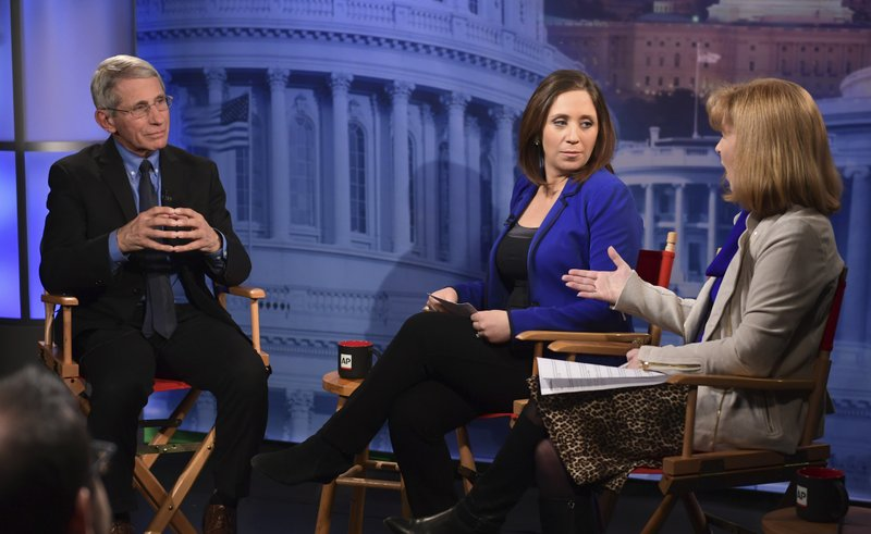 Anthony Fauci, Julie Pace, Lauran Neergaard