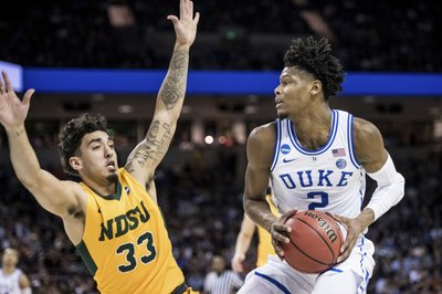 a67c8be12110 WASHINGTON (AP) — Freshman forward Cam Reddish will be a game-time decision  for Duke s Elite Eight NCAA Tournament game Sunday against Michigan State  ...