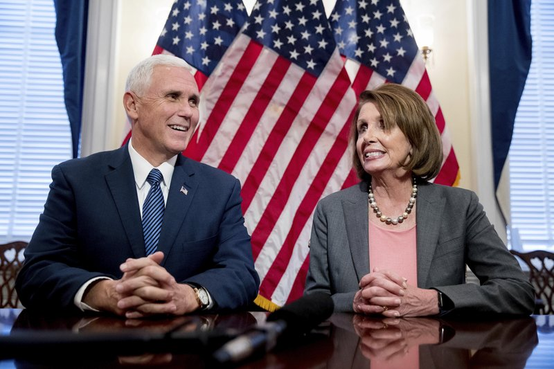 Mike Pence, Nancy Pelosi