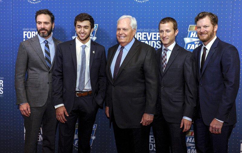 Jimmie Johnson, Chase Elliott, Rick Hendrick, Kasey Kahne, Dale Earnhardt Jr.