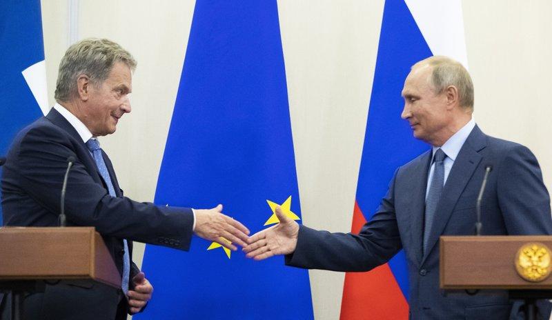 Vladimir Putin, Sauli Niinisto