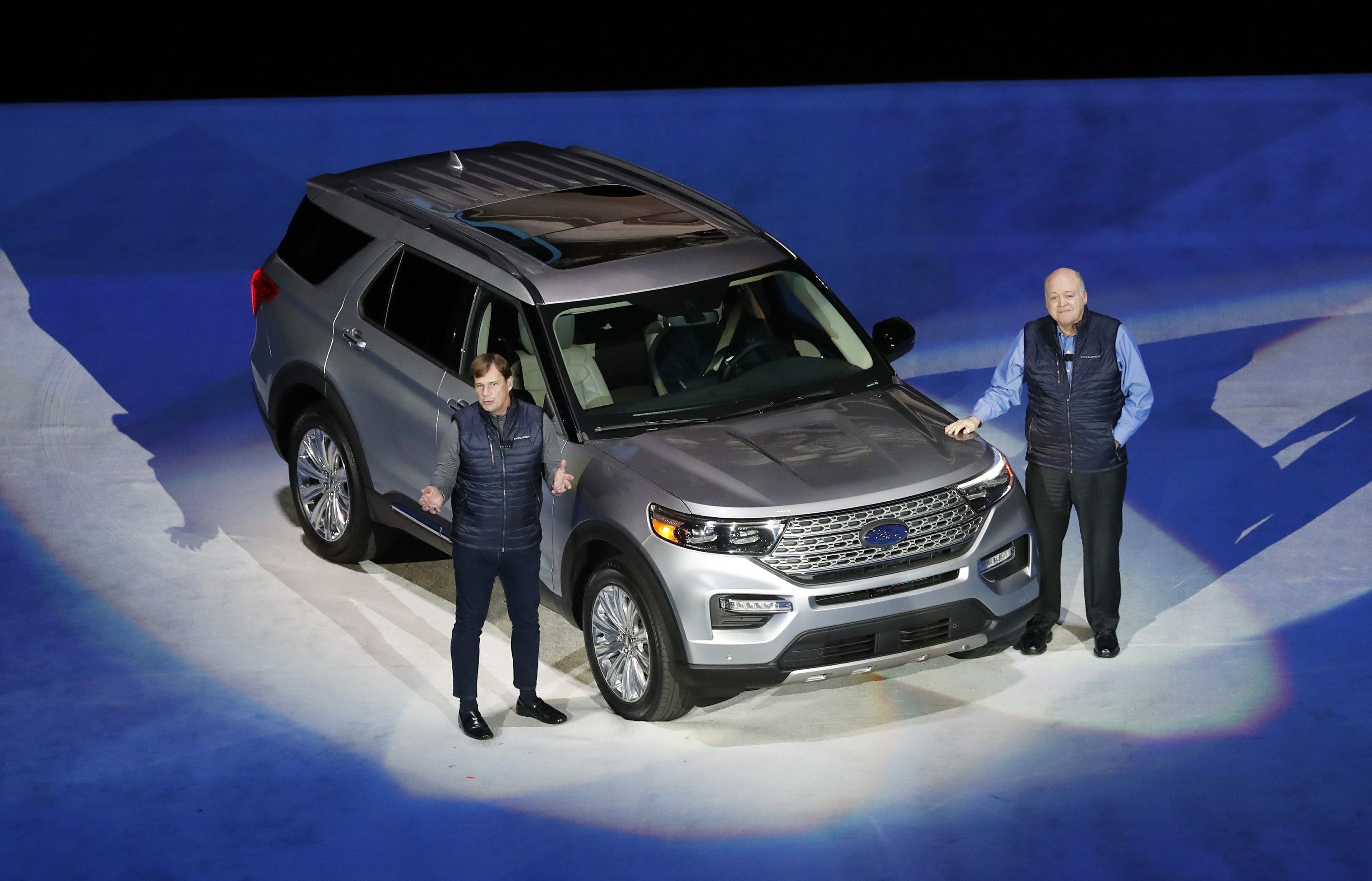 Ford and Cadillac SUVs, Toyota sports car star at auto show - The Associated Press thumbnail