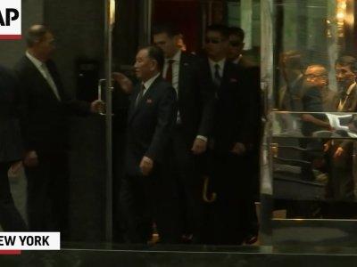 North Korean Official En Route To Washington
